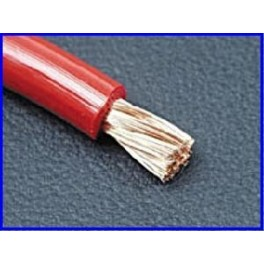 BOBINE DE CABLE ALIMENTATION 4mm2 50m ROUGE