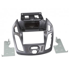 Kit integration 2 DIN FORD TOURNEO COURIER 06/2014- SANS ECRAN GRIS PAILLE (a cder FORD1519127)