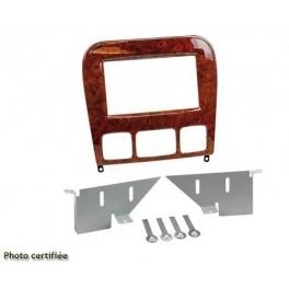 Kit integration 2 DIN MERCEDES CLASSE S 1998-2005 (W220) - COULEUR BOIS