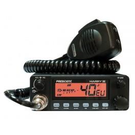 POSTE CB PRESIDENT HARRY III ASC 40 CX AM/FM 4W