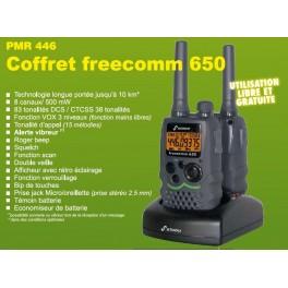 Kit motard reference ACMS208  pour CB PRESIDENT Freecomm 650