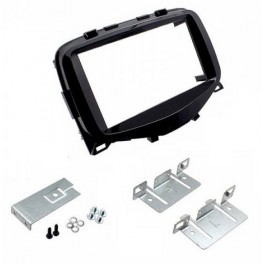 Kit integration 2 DIN CITROEN C1 2014- NOIR LAQUE
