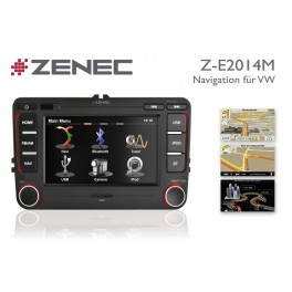ZENEC Z-E2014M la station multimedia specifique VW - AUDI - SEAT