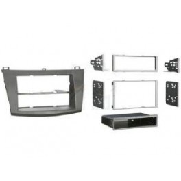 FACADE AUTORADIO MAZDA 3 2009- SIMPLE OU DOUBLE DIN