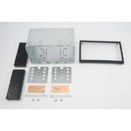 KIT DE MONTAGE UNIVERSEL POUR AUTORADIO DOUBLE ISO 110mm