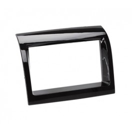 FACADE AUTORADIO DOUBLE DIN CITROEN JUMPER 2011- noir laque