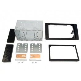 Kit integration 2 DIN AUDI A4 2002-2007 NOIR