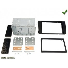 Kit integration 2 DIN AUDI A6 2001-2004 NOIR