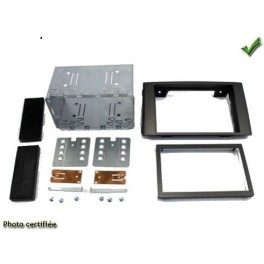 Kit integration 2 DIN IVECO DAILY 2012- GRIS METAL