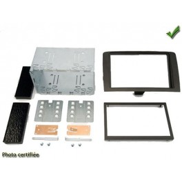 Kit integration 2 DIN FIAT IDEA 06/2005- NOIR