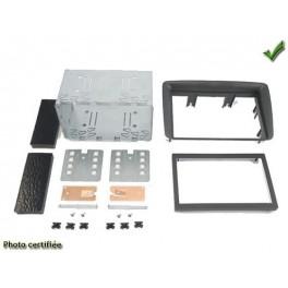 Kit integration 2 DIN FIAT PANDA 2005-2012 ANTHRACITE