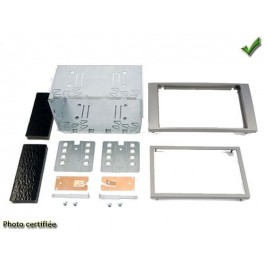 Kit integration 2 DIN FORD FIESTA 2006- ARGENT