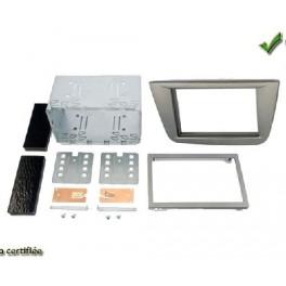 Kit integration 2 DIN SEAT TOLEDO 2005-2009 ANTHRACITE