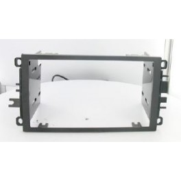 Kit integration 2 DIN HUMMER H2 2003-2008 NOIR
