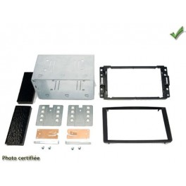Kit integration 2 DIN HUMMER H3 2005-2008 NOIR
