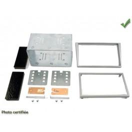 Kit integration 2 DIN OPEL TIGRA 2003- ARGENT