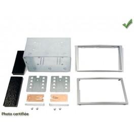 Kit integration 2 DIN OPEL CORSA 2006-2011 ARGENT