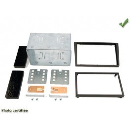 Kit integration 2 DIN OPEL SIGNUM 2003-2005 ANTHRACITE