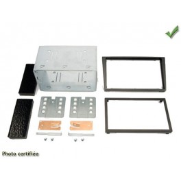 Kit integration 2 DIN OPEL VECTRA 2003- NOIR