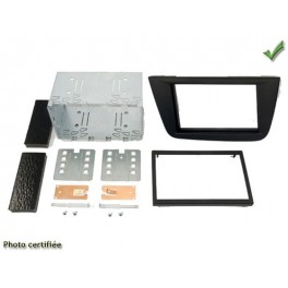 Kit integration 2 DIN SEAT ALTEA 2005- NOIR