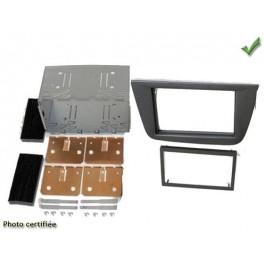 Kit integration 2 DIN SEAT ALTEA 2007- GRIS FONCE