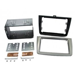 Kit integration 2 DIN ALFA MITO 2008- GRIS TITANIUM