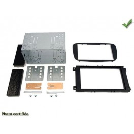 Kit integration 2 DIN FORD SMAX 2007- NOIR