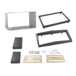 Kit integration 2 DIN OPEL CORSA 2011- ANTRACITE