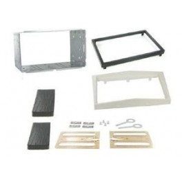 Kit integration 2 DIN OPEL CORSA 2011- BLANC PERLE