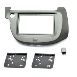 Kit integration 2 DIN HONDA JAZZ 2009-2014 ARGENT