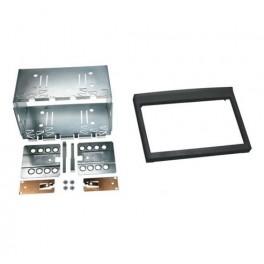 Kit integration 2 DIN PORSCHE 911 1998-2004 (996) - modele sans porte gobellet