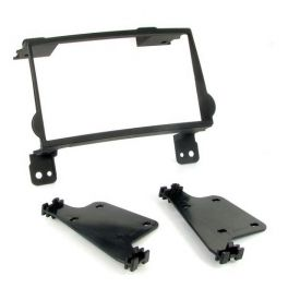Kit integration 2 DIN HYUNDAI H1 2007- NOIR RUBBER TOUCH