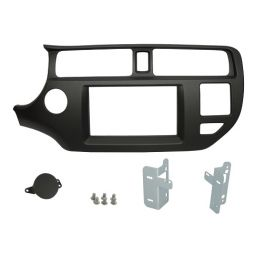 Kit integration 2 DIN KIA RIO 2011-2015 AVEC bouton airbag passager