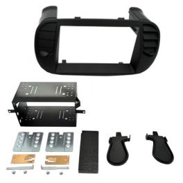 Kit integration 2 DIN FIAT 500 2007-2015 NOIR MAT
