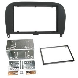 Kit integration 2 DIN MERCEDES SL R230 2002-2011 RUBBER TOUCH
