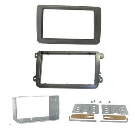 Kit integration 2 DIN VOLKSWAGEN TOURAN 02/2003- - (1T) FINITION PRO
