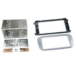 Kit integration 2 DIN FORD CMAX 2007- ARGENT