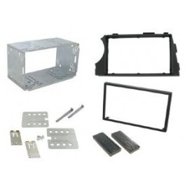Kit integration 2 DIN SSANGYONG KYRON 2005- AVEC AUTORADIO ORIGINE