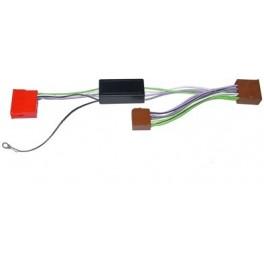 FAISCEAU AUTORADIO ISO 4X50W AUDI SYSTEME AMPLIFIE BOSE MINI ISO