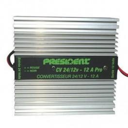 CV 24/220 V - 400 Watt CONVERTISSEURS DE TENSION   - PRESIDENT specialiste CB et accessoires CB