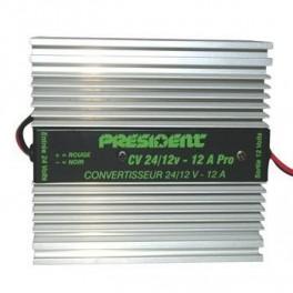 CV 24/220 V - 600 Watt Rohs CONVERTISSEURS DE TENSION   - PRESIDENT specialiste CB et accessoires CB