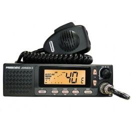 POSTE CB PRESIDENT JOHNSON II 40CX AM/FM 4W - 12/24V ASC