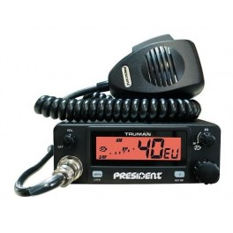 POSTE CB PRESIDENT TRUMAN ASC 40 canaux AM/FM multi-normes europeennes